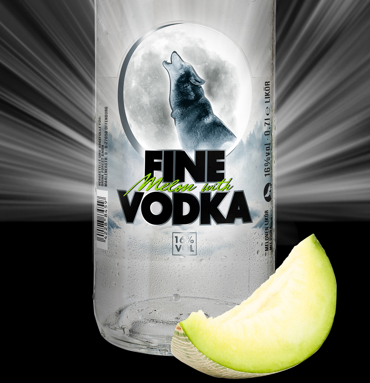 Fine Melon with Vodka Vodkamelone Happy End