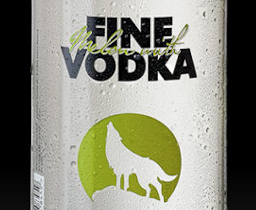 Fine Melon with Vodka Detail